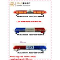 police led emergency strobe warning light bar red and blue light bar