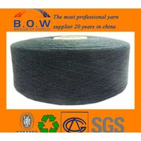 colorful dyed yarn recycle cotton for sock manufactures