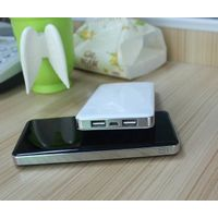 external mobile power bank dual triple port battery charger pack ABS for iphone ipad samsung htc pho