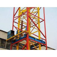 telescoping cage , climbing cage for tower crane