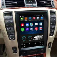 Vertical Screen 10.4 Inch Android Car Multimedia Navigation For Toyota Crown 2006-2009 thumbnail image
