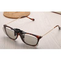 Clip-on Passive RealD 3d Glasses With Polarized Plastic Lenses for home 3D Movie