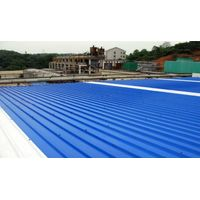 high intensity trapezoidal upvc roofing sheet