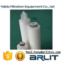 PP/PTFE/PES Micropore Membrane Pleated Filter Cartridge