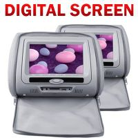 7inch Headrest DVD Player With Digital Screen and Detachable Screen (VH74) thumbnail image
