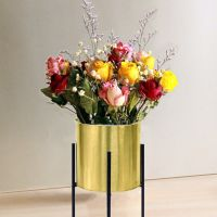 metal flower stand