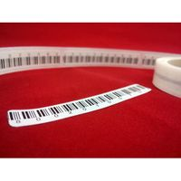 50x10mm Security label EM Label Sticker library security strip magnetic EM book label for library an