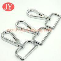 shiny silver high quality polished metal snap hooks for handbags thumbnail image
