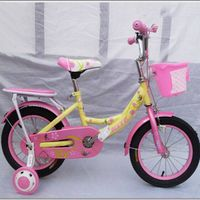 good quality new fashion with auxiliary wheel children bicycle