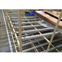 metal roller track for warehouse rack