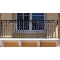 Modern wrought iron balcony railings/handrails design for sale