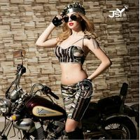 Hot selling Armygreen military uniforms dress soldier Cosplay costume sexy army girls costume linger