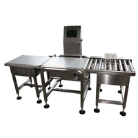 25kg Online check weigher, conveyor weight checker, food weigher