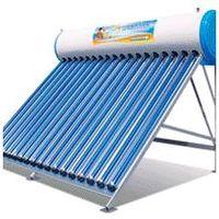 solar water heater, thermosiphon type (Calentador soalr de agua)