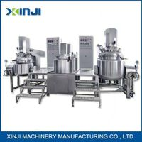 cosmetic emulsifying machine homogenizer tank