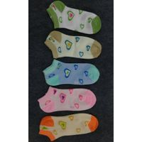women colourful sneaker socks
