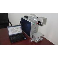 20W high speed separable fiber laser marking machine for qr code/bar code