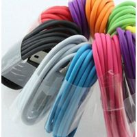 colorful micro usb cable for smart phones usb charging cable