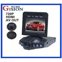 "GS-H198 Car Black Box,HDMI Night Vision Car DVR,270 Degree 2.5"" LCD,120 Degree Lens,H198,4pcs/lot Fr"