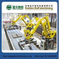 500kg 800kg Robot Stacking System Brick Making Machine