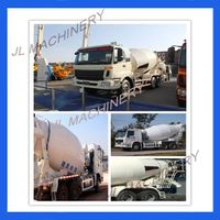 JL-10/12/15/18/21CBM Truck Mounted Concrete Mixer