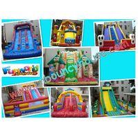 2011 hot sale inflatable slide / Water&dry slide / Bouncy slide for rental business thumbnail image