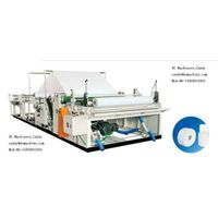 Toilet Paper Rewinding and Slitting Machine (DC-RSM-1092/1575I)