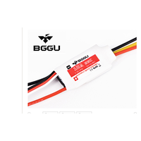 BGGU 30A ESC 2-5s Lipo 5V/3A BEC Switch RC Brushless Speed Controller for RC Aircraft RC Helicopt