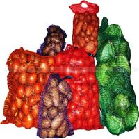 PP PE Raschel Mesh net bags for packaing vegetable