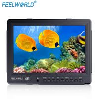 "FEELWORLD 10.1"" 4K Broadcast Monitor with HDMI2.0 3G-SDI IPS 2560X1600 4K101HSD-256"