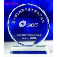 New crystal trophy / inner laser LOGO / Accept OEM thumbnail image