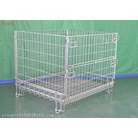 Galvanized metal wire mesh container thumbnail image