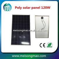 Solar panel 100W solar pv module multi crystalline silicon