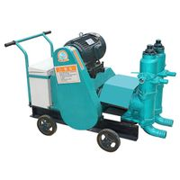 ZUB-6 double cylinder piston grouting pump