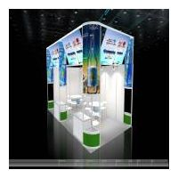the booths in the 16th China International Healthcare & Rehabilitation Exhibition