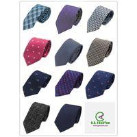 Fashion Accessories Customized Design Mens Silk Woven Neckties thumbnail image