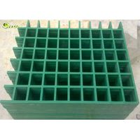 Square Fiberglass Pultrusion Grill Panel High Strength Trench Drain Grating thumbnail image