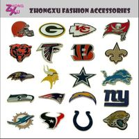 32 teams American footabll teams NFL badge brooch pin