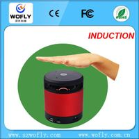ABS round mini speaker bluetooth