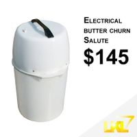 Electrical butter churn Salute