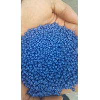 Supply HDPE blue barrel recycling extruded particles thumbnail image