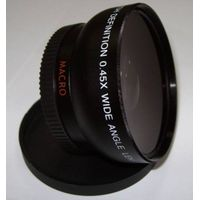 High Definition 52mm 0.45x Camera Lenses With Wide Angle Lenses for Canon 100d thumbnail image