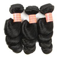 Brazilian Loose Wave Human Hair Weave 3 Bundles