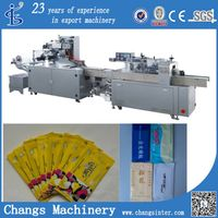 SJB-250A custom vertical automatic wet wipes napkin tissues packaging machine for sale
