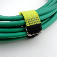 Wire ID binding band hook and loop cable strap with buckle black tie down hook loop cable strap thumbnail image