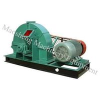 High Capacity Wood Chipper Shredder crushing wood logs less than 200mm in diameter
