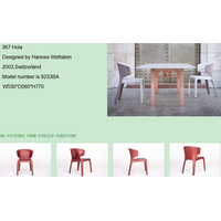 Hola dining chair or for living room/ outside