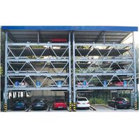 Five layers lift-sliding parking system