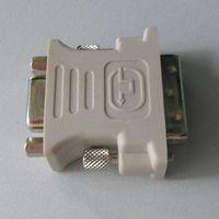 VGA  M - DVI(18+5 ) F  Adapter