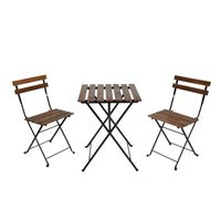 Bistro Tarno Set with Table and 2 Chairs